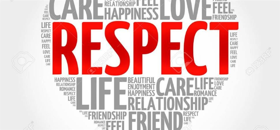 January Habits of Character is Respect