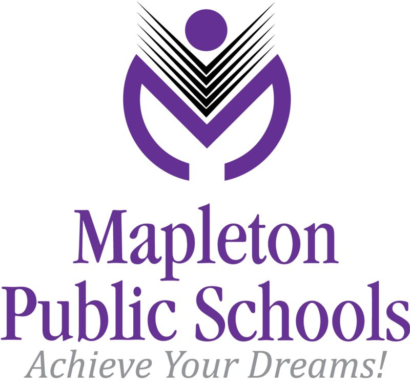Mapleton Logo with Name and Tagline JPEG