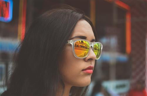 girl with sunglasses by Jamie Brown on Unsplash