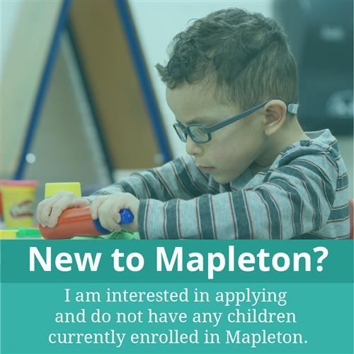New Mapleton Families Enrollment Link