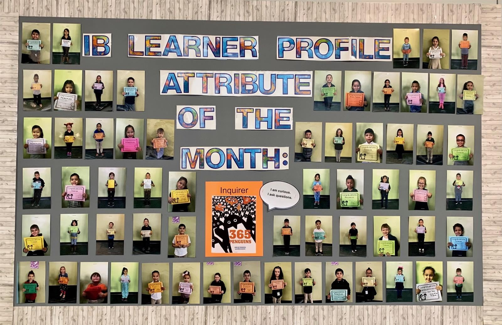 Learner Profile Attribute of the Month