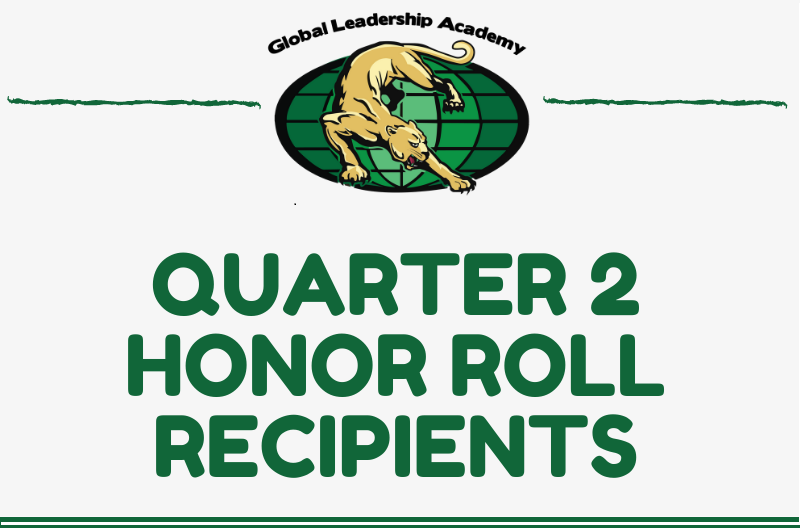 Congratulations Quarter 2 Honor Roll Recipients