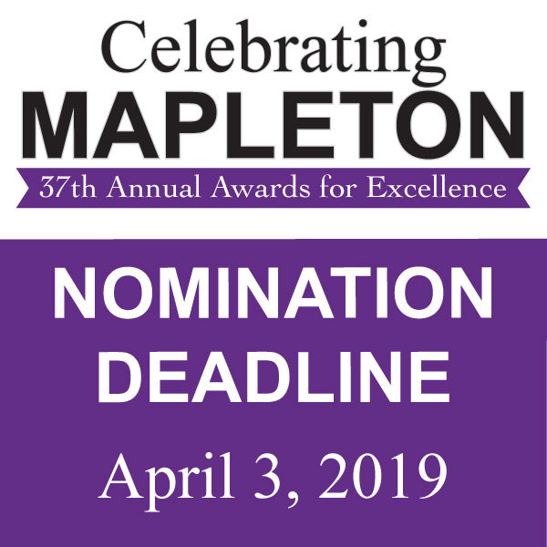 Celebrating Mapleton – 37th Annual Awards for Excellence