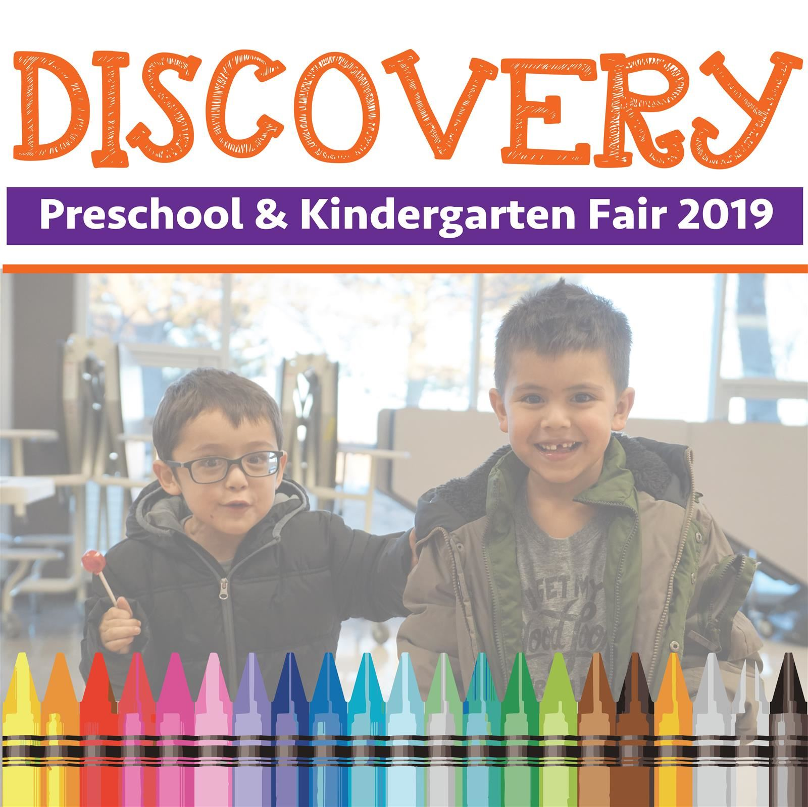 Discovery: Preschool & Kindergarten Fair 2019
