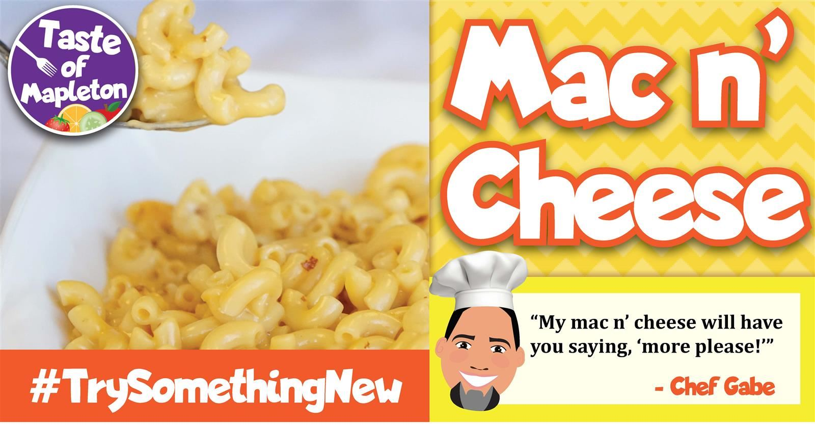 Mac n' Cheese Ad