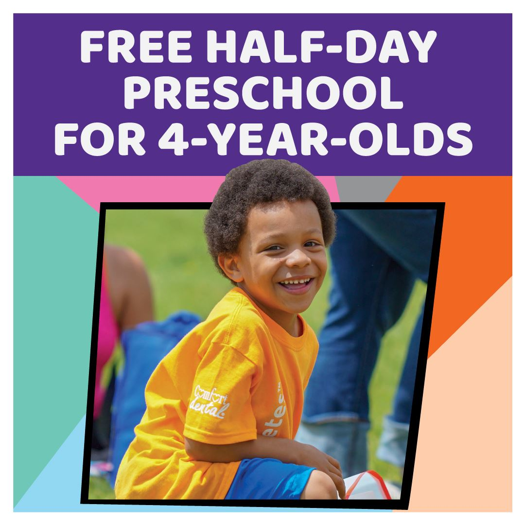 Free half-day PK for all 4-year-olds in Mapleton!