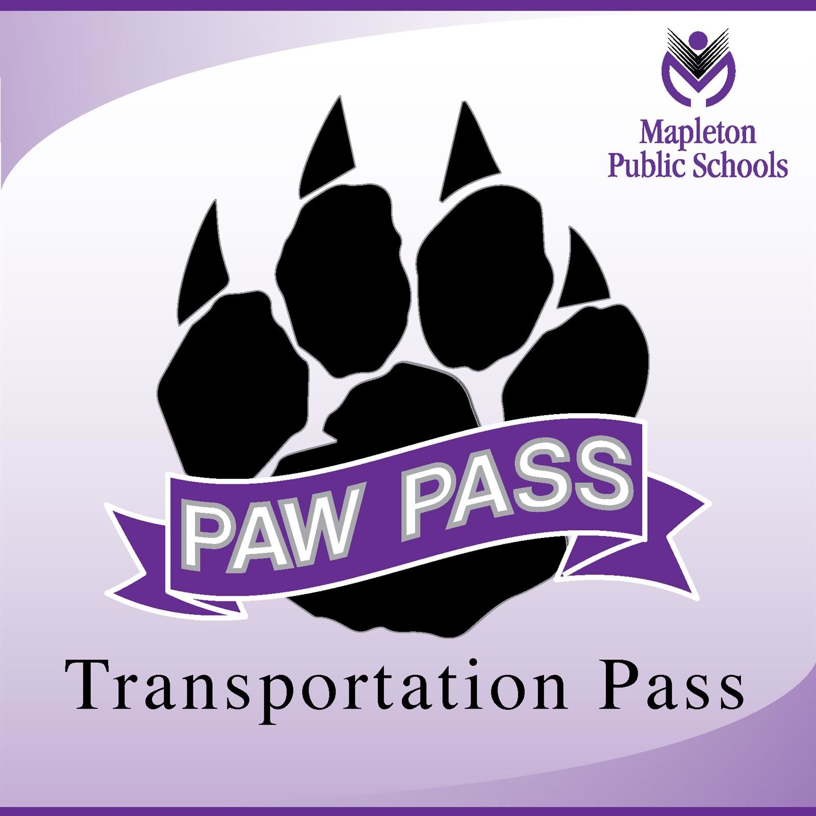 Image of the paw pass logo