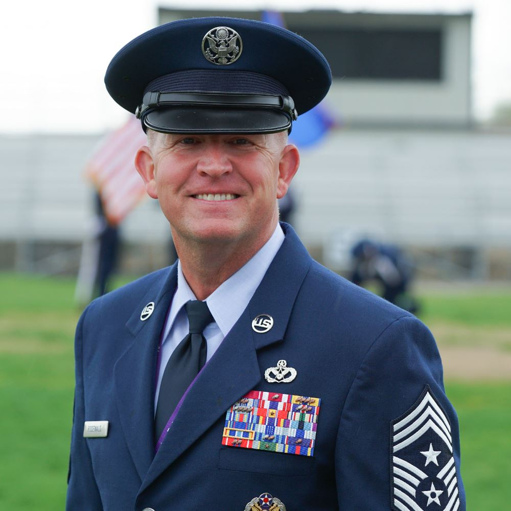 Photo of Chief Master Sgt. Robert Rodewald