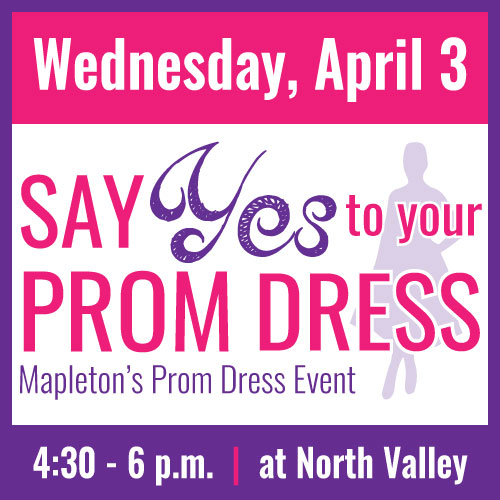 Graphic for Prom Dress event