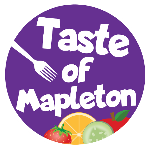 Taste of Mapleton Logo